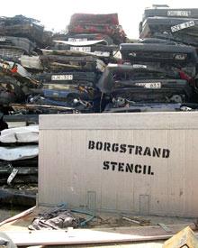 Borgstrand Stencil IRL